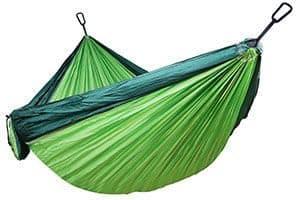 La hamaca para acampada NatureFun es la segunda que mejores opiniones tiene de los clientes de Amazon
