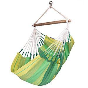La silla colgante La Siesta Orquídea Lagoon es la cuarta que mejores críticas tiene de los clientes de Amazon
