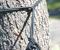 El accesorio de sujección más clásico para sujetar tu amaca es la cuerda