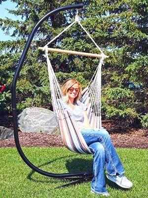 Estructura para silla hamaca Amanka de 205 cm en Eskinado.com