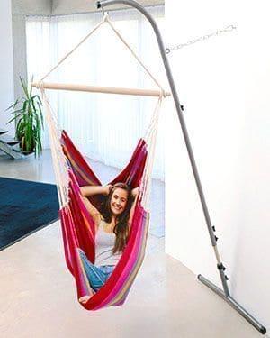 El segundo sostén para sillas hamaca con mejores opinones es el Palmera RockStone de Amazonas