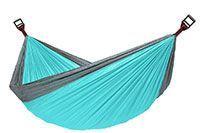 Ver Hamaca Meilian portátil para viajes y acampadas en Amazon