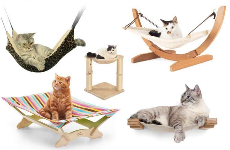 Te ayudamos a comprar la hamaca de gato más adecuada para tu amigo felino