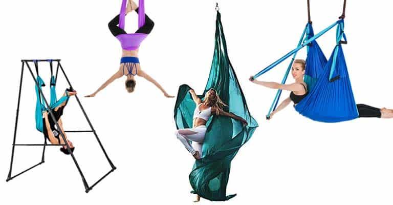 Hamacas de yoga aéreo