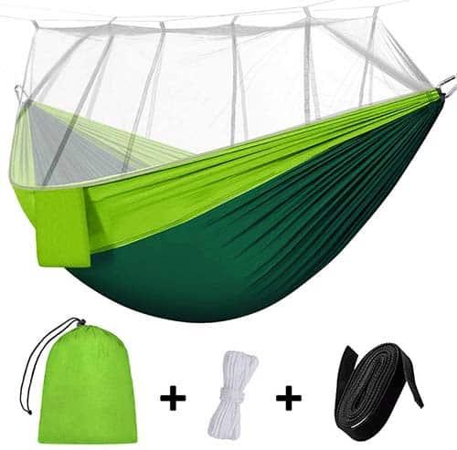 Rusee Hamaca de Camping con mosquitera