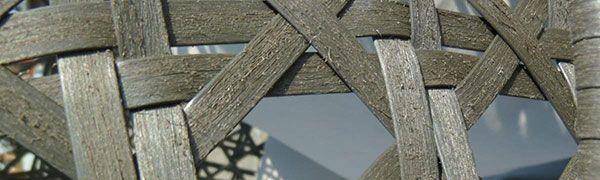 Malla de polietileno de la silla colgante Cocoon