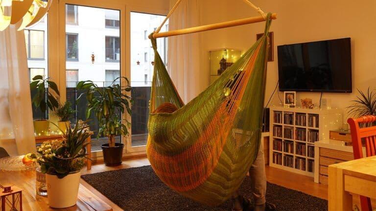 Silla colgante Net V de Hammock Art