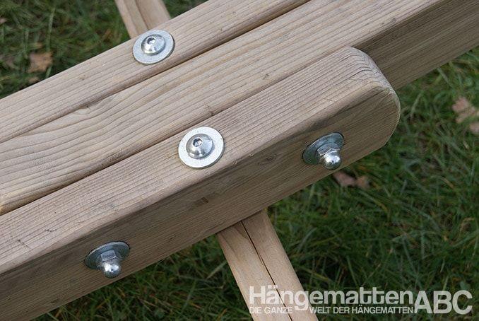 Uniones roscadas de las piezas de madera de Olympus